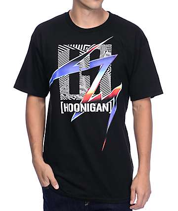 Hoonigan H Box Pantone Black T-Shirt