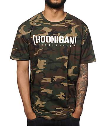 Hoonigan Industries Camo T-Shirt