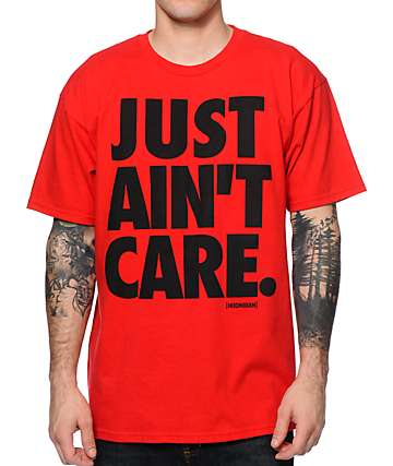 Hoonigan Just Ain't Care T-Shirt
