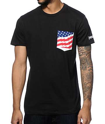 Hoonigan KB Stars & Stripes Pocket T-Shirt