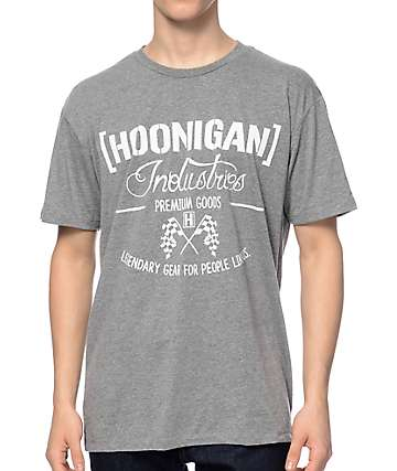 Hoonigan Legendary Grey T-Shirt