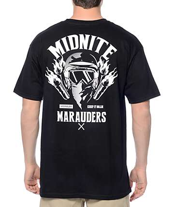 Hoonigan Midnight Marauders Black T-Shirt