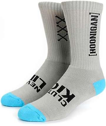 Hoonigan Never Lift Crew Socks