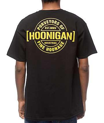 Hoonigan Purveyors camiseta negra