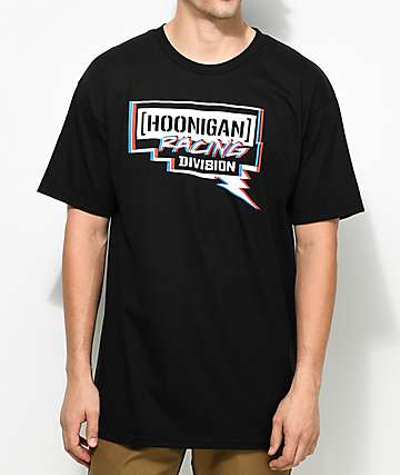 Hoonigan Racing Division Black T-Shirt