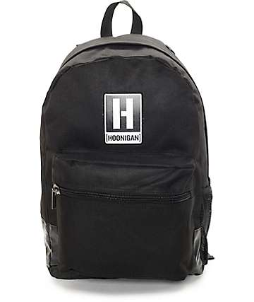 Hoonigan Standard Issue Black Backpack