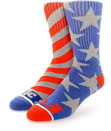Hoonigan Stars & Stripes Crew Socks