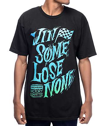 Hoonigan Win Some Black T-Shirt