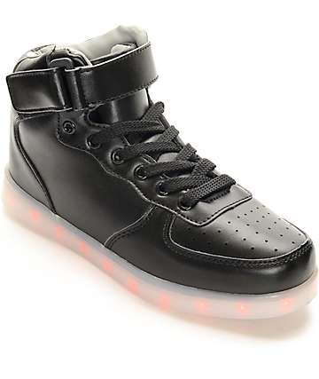 Hoverkicks Super Nova LED Black Shoes