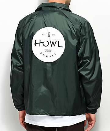 Howl Green Standard Coaches Jacket