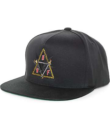 Huf Swords Black Snapback