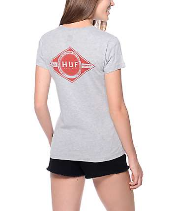 Huf Tried & True Grey T-Shirt