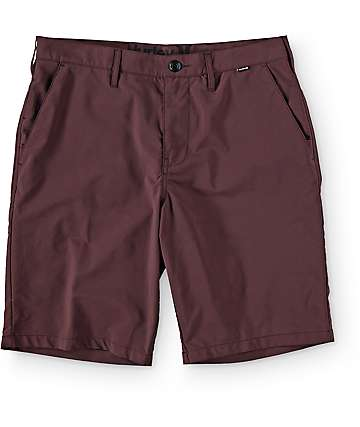 Hurley Dri Fit Mahogany Chino Shorts