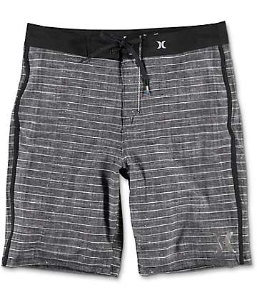 Hurley Phantom Driftwood Black Board Shorts