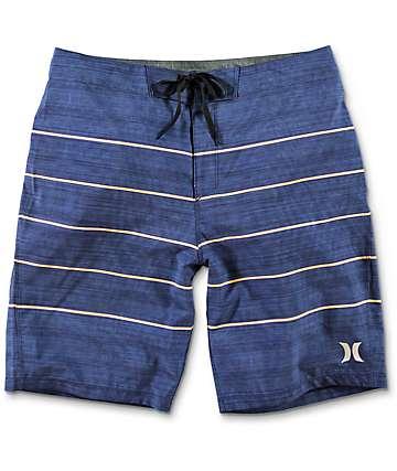 Hurley Phantom Pinline board shorts en azul