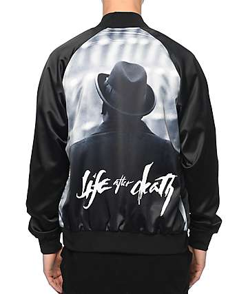 Hypnotize Biggie Life After Death Black Jacket
