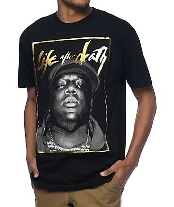 Hypnotize Biggie Life camiseta negra