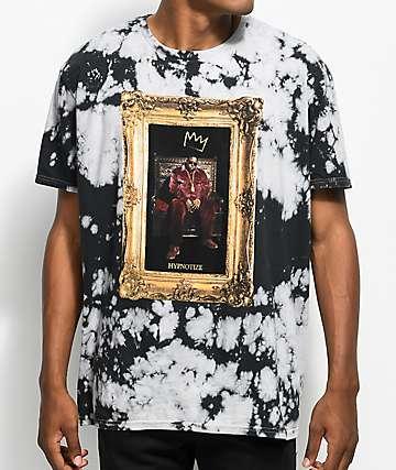 Hypnotize Biggie Portrait Tie Dye T-Shirt