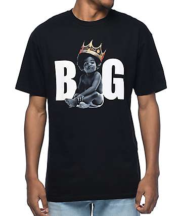 Hypnotize Biggie Ready Black T-Shirt