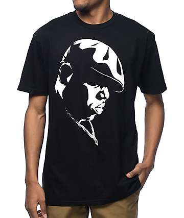 Hypnotize Biggie Shadow Black T-Shirt