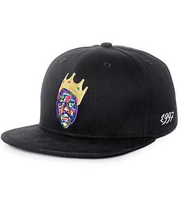 Hypnotize Crown Print gorra snapback en negro