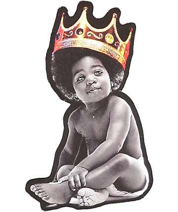 Hypnotize Notorious Baby Crown pegatina