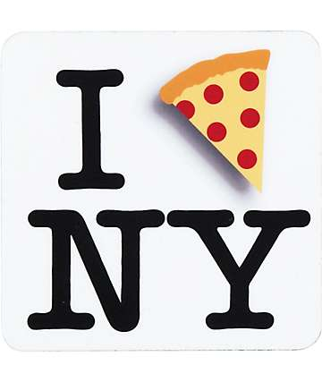 I Pizza NYC Sticker