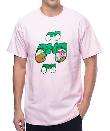 Illegal Civilization Binocular Pink T-Shirt