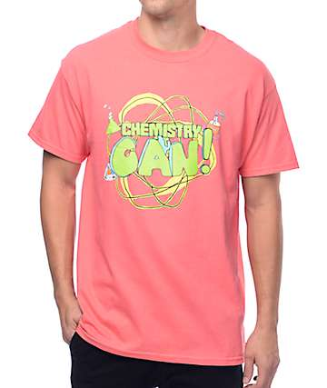 Illegal Civilization Chemistry Can Coral T-Shirt