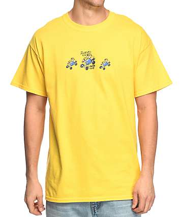 Illegal Civilization Cinema Club Yellow T-Shirt