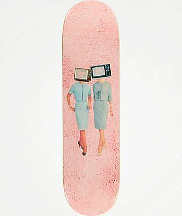 "Illegal Civilization TV Heads 8.25"" Skateboard Deck"