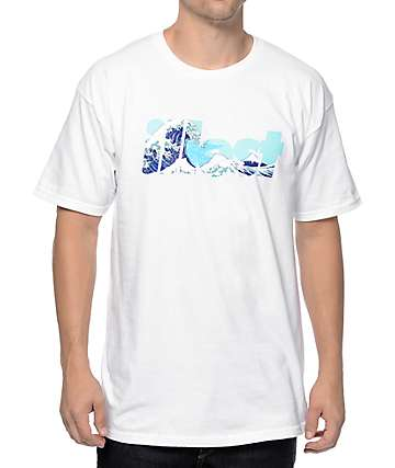 Illest Bold Waves White T-Shirt