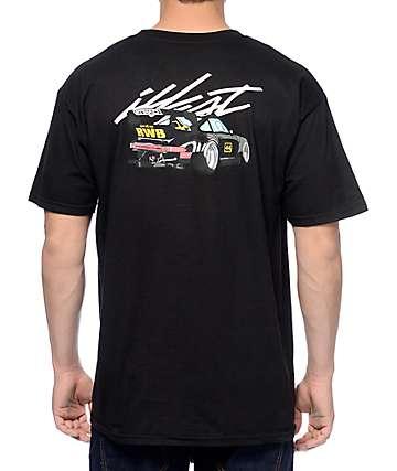 Illest Whip Rauh Welt Black T-Shirt