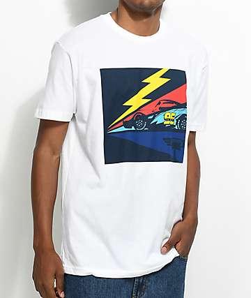 Illest X Disney's Cars 3 Lightning camiseta blanca