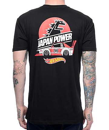 Illest x Hot Wheels Japan Black T-Shirt