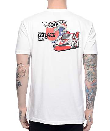 Illest x Hot Wheels Wave White T-Shirt