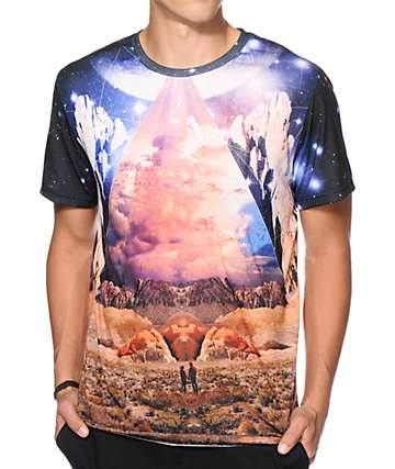 Imaginary Foundation Couple'Topia Sublimated T-Shirt