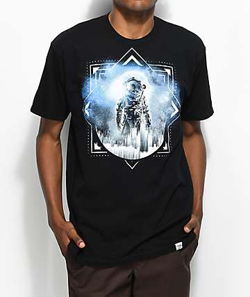 Imaginary Foundation Direct Black T-Shirt