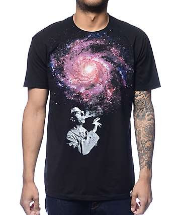 Imaginary Foundation Infinite Black T-Shirt
