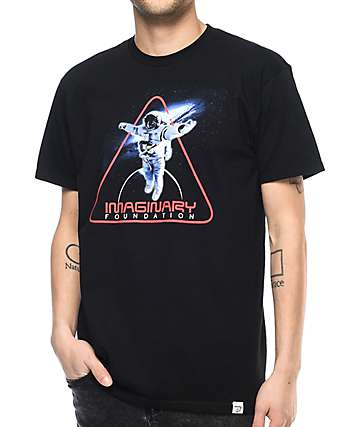 Imaginary Foundation Insignia Black T-Shirt