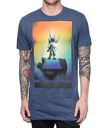 Imaginary Foundation Majestic Heather Blue T-Shirt