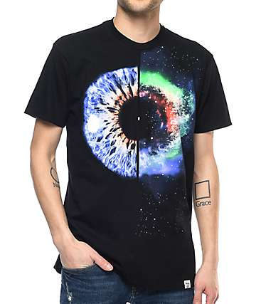 Imaginary Foundation Universe Within camiseta negra