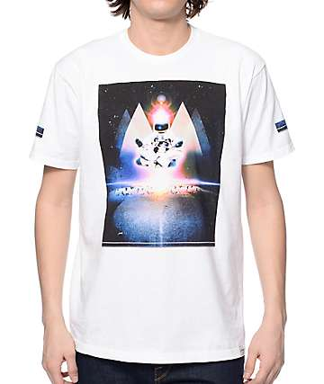 Imaginary Foundation Zen Space White T-Shirt