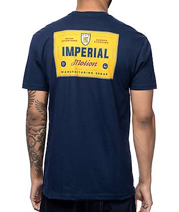 Imperial Motion 15th Century Navy T-Shirt