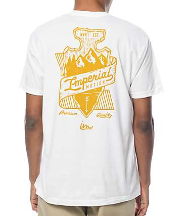 Imperial Motion Arrowhead White T-Shirt
