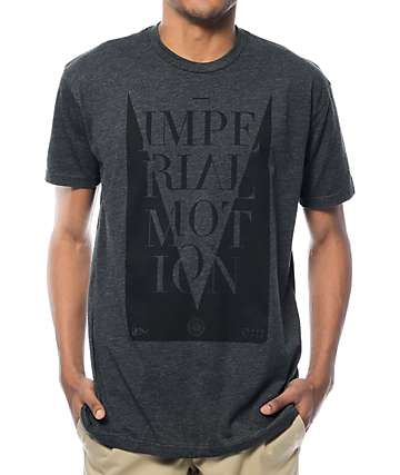 Imperial Motion Barcelona Heather Charcoal T-Shirt