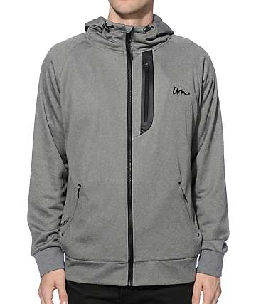 Imperial Motion Broiler Tech Fleece Zip Up Hoodie