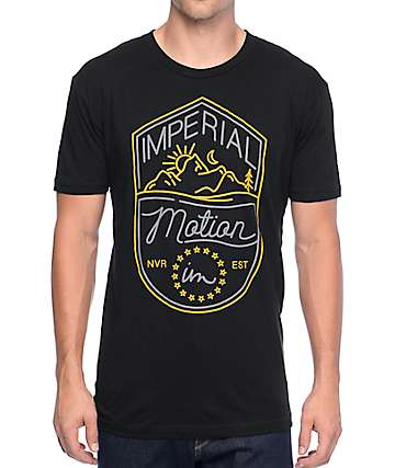 Imperial Motion Camp Black T-Shirt