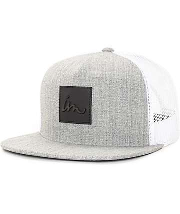 Imperial Motion Caste Grey & White Trucker Hat