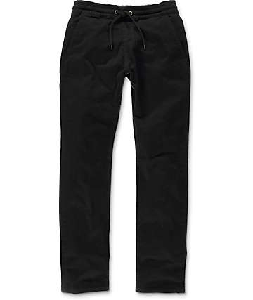 Imperial Motion Chapter Black Chino Jogger Pants